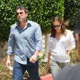 Jennifer Garner and Ben Affleck à Encino, Californie, le 16 juillet 2013.