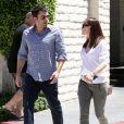 Jennifer Garner et Ben Affleck oublient les paparazzi à Encino, Californie, le 16 juillet 2013.