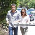 Jennifer Garner et Ben Affleck vont en rendez-vous à Encino, Californie, le 16 juillet 2013.