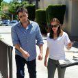 Jennifer Garner et Ben Affleck à Encino, Californie, le 16 juillet 2013.
