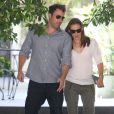 Jennifer Garner et Ben Affleck en rendez-vous à Encino, Californie, le 16 juillet 2013.