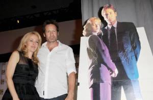 David Duchovny et Gillian Anderson : Le couple de X-Files, complices et rêveurs