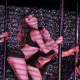 Les filles du Crazy Horse et leurs longues jambes fuselées le 19 Juillet 2013 à Cannes où le cabaret a pris ses quartiers d'été