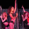 Les filles du Crazy Horse le 19 Juillet 2013 à Cannes où le cabaret a pris ses quartiers pour l'été