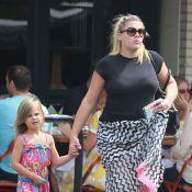 Busy Philipps : Première sortie avec son bébé, sa silhouette n'a pas bougé