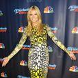 """Heidi Klum - Les juges d'""""America's Got Talent"""" lors de la soirée de lancement des émissions en direct à New York, le 23 juillet 2013."""