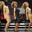 Tina Turner en concert au Palais Omnisports de Paris Bercy, le 29 avril 2009.