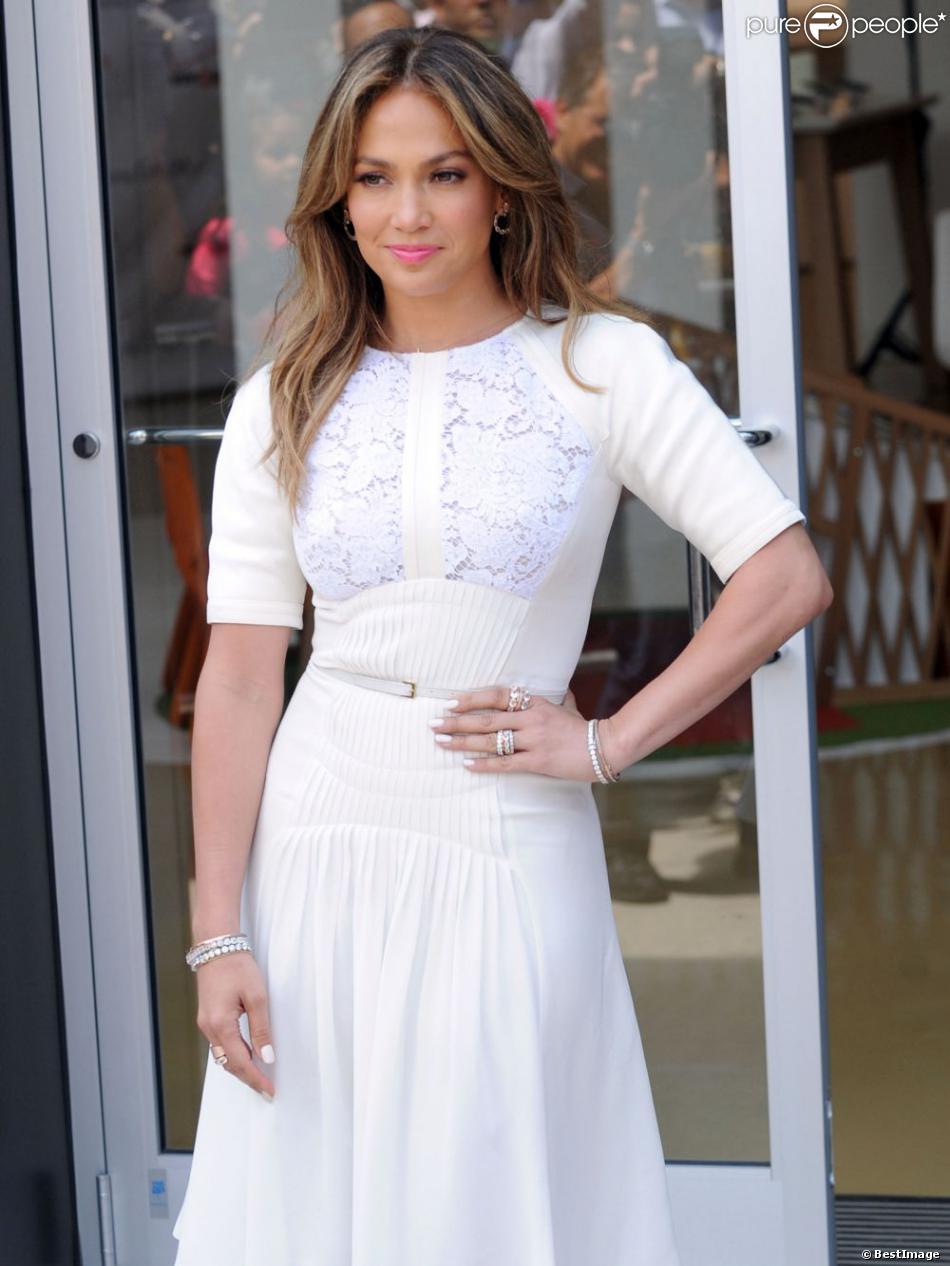 La chanteuse Jennifer Lopez à Beverly Hills le vendredi 26 juillet 2013.