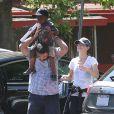 Sandra Bullock va chercher son fils à la crèche à Los Angeles le 25 juillet 2013