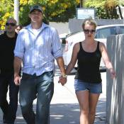 Britney Spears : Ravissante en short et main dans la main avec son David