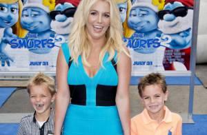 Britney Spears : Sortie ciné avec ses fils et la jolie fille d'Anna Nicole Smith