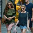 Exclu - Kylie Minogue en vacances à Portofino en Italie, le 25 juillet 2013.