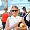 Kylie Minogue en vacances à Portofino en Italie, le 28 juillet 2013.