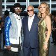 Céline Dion et René Angélil, et Will.i.am à la soiree 2013 Billboard Music Awards au MGM Grand Garden Arena, à Las Vegas, le 19 mai 2013.