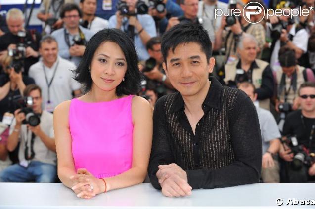 Tony Leung et Carina Lau, nouvellement mariés