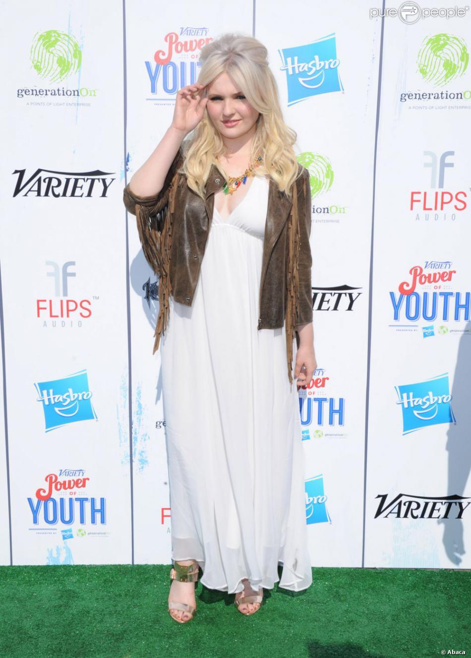 Abigail Breslin lors de la soirée Power of Youth à Los Angeles le 27 juillet 2013