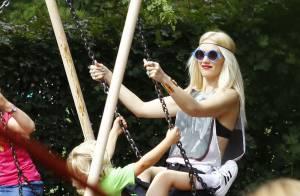 Gwen Stefani : En famille à Londres pour les vacances, elle gâte ses enfants