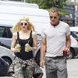 Gwen Stefani et Gavin Rossdale se promènent dans le quartier de Primrose Hill à Londres, le 29 juillet 2013.