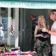 Gwen Stefani et Gavin Rossdale à Londres, le 29 juillet 2013.