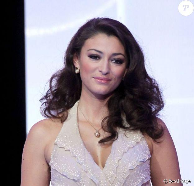 Rachel Legrain-Trapani lors de l'élection Miss France 2011 à Caen, le 4 décembre 2010.