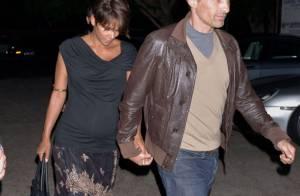 Halle Berry, enceinte : Baby-bump moulé, virée romantique avec Olivier Martinez
