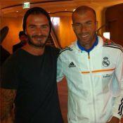David Beckham : Retrouvailles à L.A. avec Zidane, Ronaldo et le Real Madrid