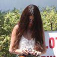 Selena Gomez va faire du shopping chez à Santa Monica, le 1er août 2013.