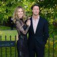 Eva Herzigova et son mari en juin 2013 lors d'une soirée à Londres