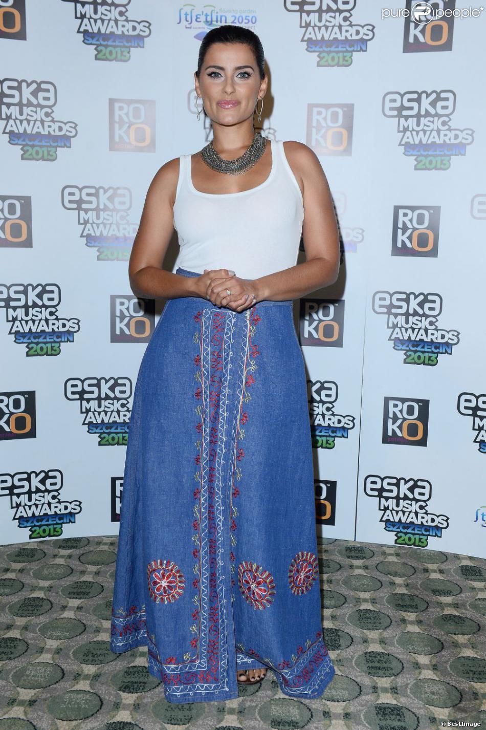 Nelly Furtado assiste à la conférence de presse du gala Eska Music Awards 2013 à Szczecin en Pologne, le 4 août 2013.