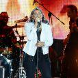 Nelly Furtado lors de son concert à Szczecin en Pologne, le 3 août 2013.