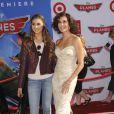 Teri Hatcher et sa fille Emerson à l'avant-première mondiale de Planes, à Los Angeles, le 5 août 2013
