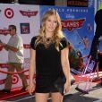 Hilary Duff à l'avant-première mondiale de Planes, à Los Angeles, le 5 août 2013