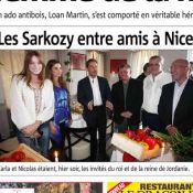 Nicolas Sarkozy et Carla, Abdullah et Rania de Jordanie : Retrouvailles à Nice !
