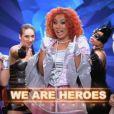 Le troupe We are heroes ( The Best : Le meilleur artiste  - émission du vendredi 9 août 2013)