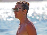 Kate Moss, bientôt 40 ans, assume ses kilos en plus à la plage