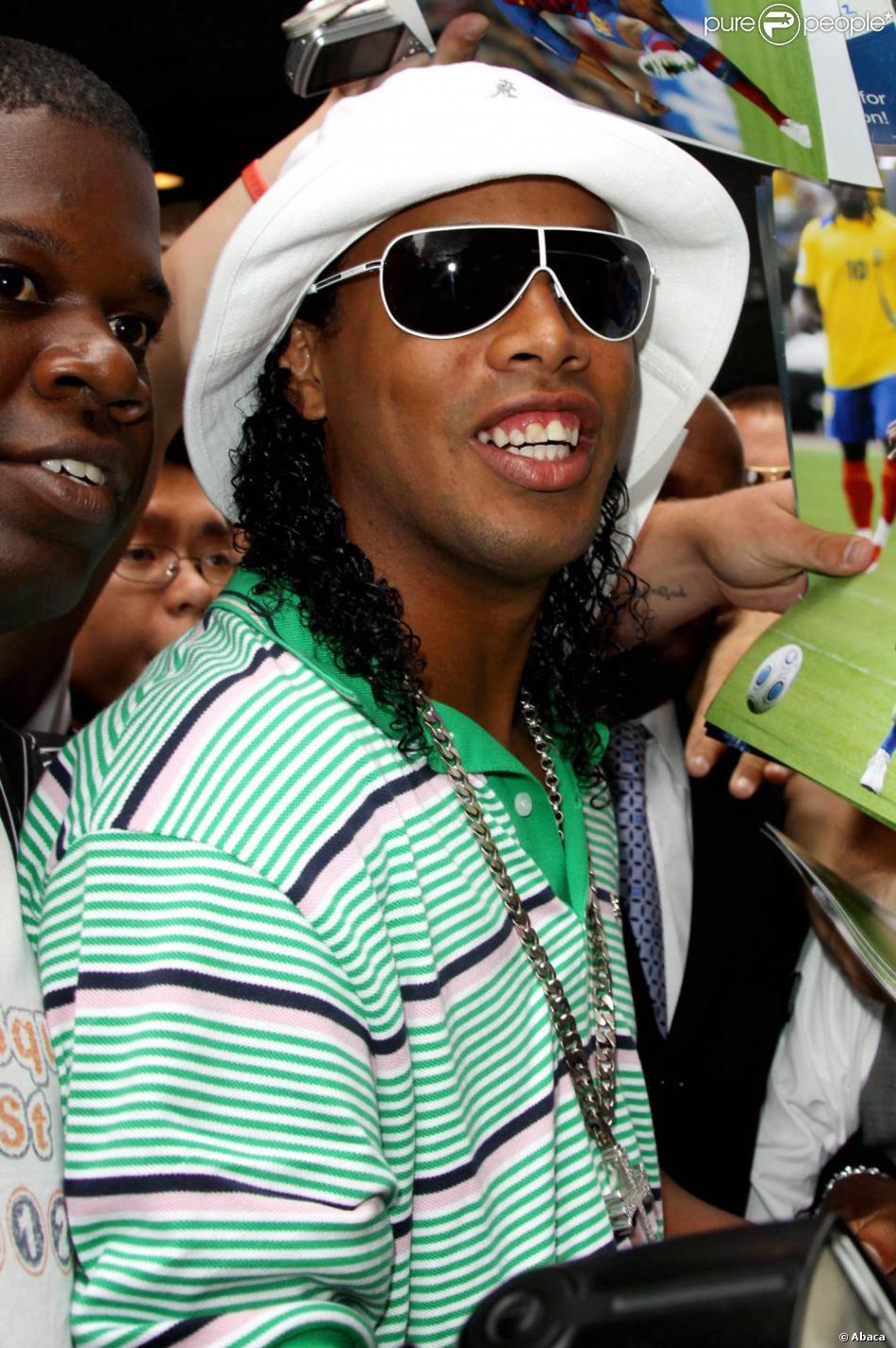 Ronaldinho à New York, le 10 juin 2009