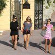Rocco et Lourdes, enfants de Madonna en vacances avec elle à Villefranche-sur-mer en août 2013, ne manquent pas d'ami(e)s sur place !