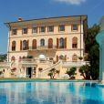 La villa Schiffanoia qu'a louée Madonna pour les vacances de ses 55 ans, en août 2013, à Villefranche-sur-mer