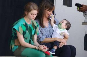 Jennifer Garner : Un bébé coquin dans les bras, une maman poule à toute épreuve