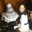 Cara Santana a sa fête d'anniversaire à Los Angeles, le 17 août 2013.