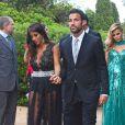 Cesc Fabregas et Daniella Semaan à Blanes, le 13 juillet 2013.