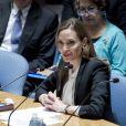 Angelina Jolie à l'ONU, New York, le 24 juin 2013