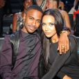 Naya Rivera et son chéri Big Sean à la cérémonie des MTV Video Music Awards à New York, le 25 août 2013.