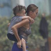 Nicole Richie : Décontractée avec ses enfants Harlow et Sparrow à la plage