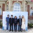 Le jury révélation Cartier autour de Valérie Donzelli : Géraldine Maillet, Vincent Lacoste, Woodkid et Laurence Arné, lors du 39e Festival du Film Americain de Deauville le 1er septembre 2013.