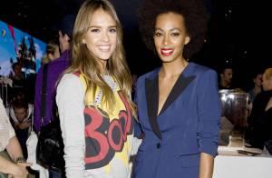 Fashion Week : Jessica Alba et Solange Knowles, fans de mode à petits prix
