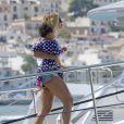 Beyoncé et sa fille Blue Ivy en vacances à Ibiza, en Espagne, le 1er septembre 2013.