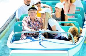 Hugh Hefner, 87 ans : Papy perdu à Disneyland avec sa jeune épouse Crystal