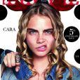Cara Delevingne en couverture du magazine LOVE.