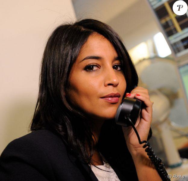 Leïla Bekhti lors de la journée de charité organisée en mémoire des attentats du 11 septembre 2001 par BGC Partners et sa filiale Aurel BGC, à Paris, le 11 septembre 2013
